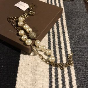 "Silpada ""Glitz and Pearls"" necklace"
